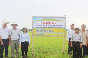 Thực hành nông nghiệp thông minh thích ứng biến đổi khí hậu