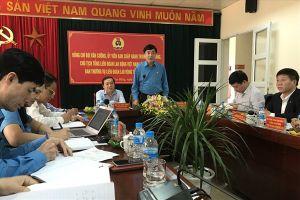 Chủ tịch Tổng LĐLĐVN Bùi Văn Cường làm việc với LĐLĐ tỉnh Cao Bằng