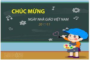 Những lời chúc hay và ý nghĩa nhất tặng thầy cô nhân Ngày Nhà giáo Việt Nam