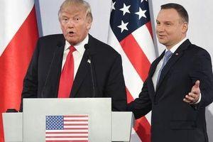 Sao Warsaw sốt ruột thành lập Pháo đài Trump tại Ba Lan?
