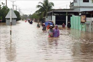 Khắc phục hậu quả thiên tai tại Phú Yên, Ninh Thuận