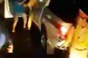 Công an lên tiếng về clip đánh nhau giữa CSGT với người dân