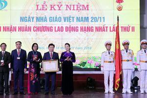 Chủ tịch Quốc hội dự lễ kỉ niệm Ngày Nhà giáo Việt Nam tại Học viện Tài chính