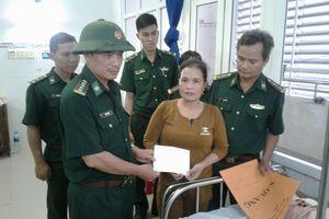 BĐBP Ninh Thuận triển khai lực lượng tìm kiếm tàu cá bị nạn trên biển