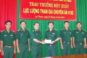 'Lưới lửa' trên biên giới Tây Ninh