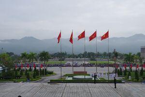 Tổng duyệt chương trình 'Giao lưu hữu nghị Quốc phòng biên giới Việt Nam -Trung Quốc' lần thứ 5
