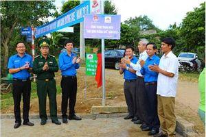 Quảng Trị: Khánh thành công trình thanh niên 'Ánh sáng đường quê'