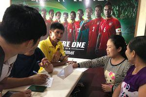 Cổ động viên Việt Nam mua vé trận đấu với Myanmar ở đâu?