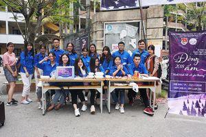 Đông ấm thiện nguyện của sinh viên ĐH Luật Hà Nội