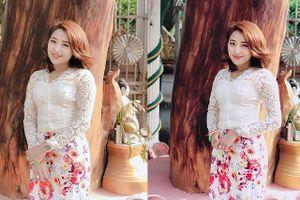Bạn gái của 'Messi Myanmar' khoe nhan sắc đẹp tựa Hoa hậu