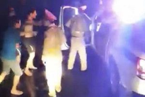 Bị tố đánh nhau với tài xế xe chở bò: CSGT Bình Định lên tiếng