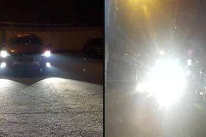 Sử dụng đèn pha khi tham gia giao thông trong thành phố có bị xử phạt?