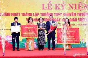 Trường THPT Nguyễn Trường Tộ (TP. Vinh) kỷ niệm 30 năm thành lập