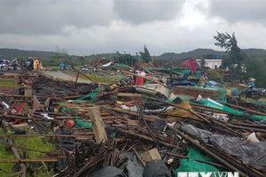 Phú Yên: Lốc xoáy gây thiệt hại khá nặng nề về người và của