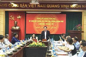 Phó Thủ tướng Vương Đình Huệ: Cắt giảm điều kiện kinh doanh phải đảm bảo cân đối về kinh tế- xã hội