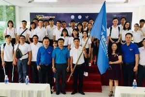 100 sinh viên tham gia xuất quân Hành trình 'Tôi yêu Tổ quốc tôi' 2018