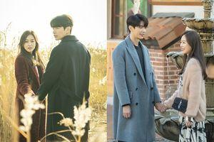 'The Beauty Inside' chuẩn bị kết thúc, ngắm qua ảnh hậu trường 'ngôn tình' Seo Hyun Jin và Lee Min Ki