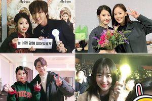 Lee Jun Ki, Sulli cùng Ji Yeon (T-ara) và dàn sao 'My Mister' đến xem concert kỷ niệm 10 năm của IU