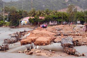 Cảnh báo lũ quét, sạt lở đất và ngập úng cục bộ ở các tỉnh Khánh Hòa, Ninh Thuận
