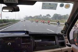 Nguyên nhân xuất hiện hàng chục phượt thủ phi xe máy trên cao tốc: Nhầm đường