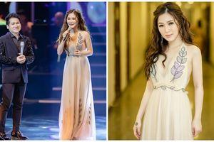 Hương Tràm xinh đẹp và quyến rũ song ca cùng Trọng Tấn trong đêm nhạc 'Mùa Thu Vàng'