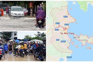 Ảnh hưởng bão số 8: Nha Trang ngập nặng, 4 người qua đời vì lỡ núi và sập nhà