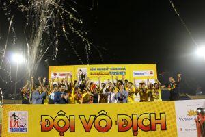 Đánh bại Bình Dương tại chung kết U21 quốc gia, Hà Nội lên ngôi vô địch lần thứ 4