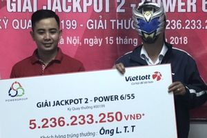 Kết quả Vietlott hôm nay (18/11): Khách hàng tại Hà Nội nhận giải thưởng hơn 5,2 tỷ đồng