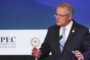 Thủ tướng Australia ngầm chỉ trích chiến tranh thương mại Mỹ-Trung