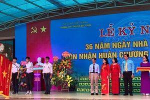 Trường THPT Chuyên Bắc Giang đón nhận Huân chương Lao động hạng Nhất