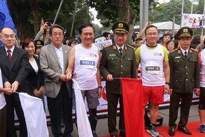 Hơn 1.000 'vận động viên' của Việt Nam – Nhật Bản tham dự Giải chạy tiếp sức Kizuna Ekiden 2018
