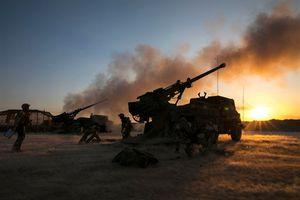 Pháp âm thầm đưa siêu pháo hạng nặng sang chiến trường Syria chiến đấu