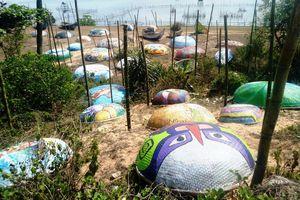 Tháo dỡ con đường thuyền thúng dài nhất Việt Nam