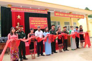 Khánh thành điểm trường học làng Khe Chữ