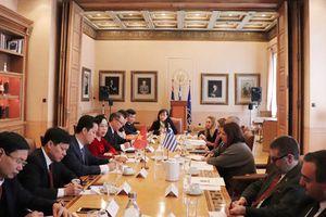 Đoàn đại biểu TP Hà Nội thăm và làm việc tại Hy Lạp