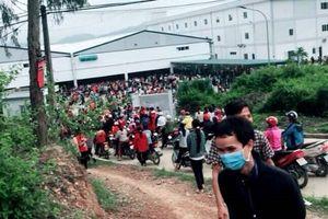 Thanh Hóa: Gần 4.000 công nhân ngừng việc tập thể đòi quyên lợi