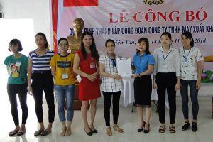 Thái Bình: LĐLĐ huyện Quỳnh Phụ thành lập thêm CĐCS
