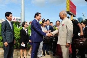 Tổng thống Ấn Độ thăm Bảo tàng Điêu khắc Chăm Đà Nẵng