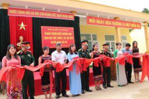 Khánh thành điểm trường học ở làng tái định cư Khe Chữ