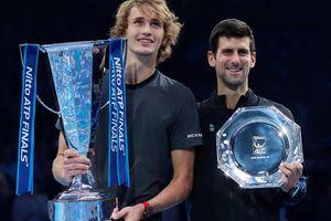 Djokovic thua sốc ở chung kết, Zverev vô địch ATP Finals 2018
