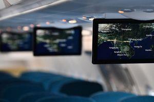 Ấn tượng giải trí không dây trên tàu bay mới A321neo của Vietnam Airlines