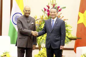 Tổng thống Cộng hòa Ấn Độ thăm, làm việc tại TP Đà Nẵng