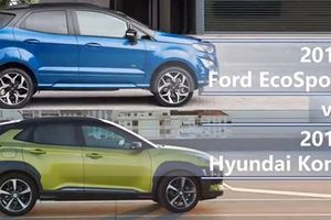 Honda HR-V và Hyundai Kona 'hạ bệ' Ford Ecosport