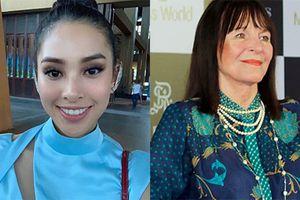 Đây là cách HH Trần Tiểu Vy lấy lòng chủ tịch Miss World
