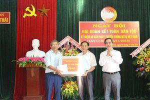 Trưởng ban Kinh tế Trung ương chung vui Ngày hội Đại đoàn kết toàn dân tộc tại Hà Tĩnh