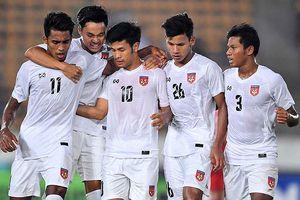 Myanmar mất trụ cột hàng thủ ở trận gặp tuyển Việt Nam