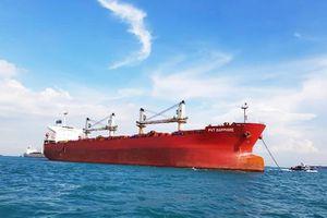 PV Trans tiếp nhận tàu chở hàng rời PVT Sapphire
