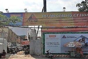 Dự án CT Home Bình Thạnh bị 'tuýt còi' vì xây dựng không phép