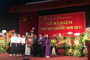 Học viện Y Dược học Cổ truyền Việt Nam tổ chức kỷ niệm Ngày Nhà giáo Việt Nam