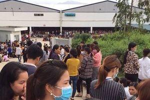 Thanh Hóa: Hàng nghìn công nhân công ty may nghỉ làm đòi quyền lợi